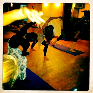 Urban Yoga Monks Class