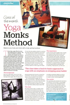 Women's fitness-Yogamonks article