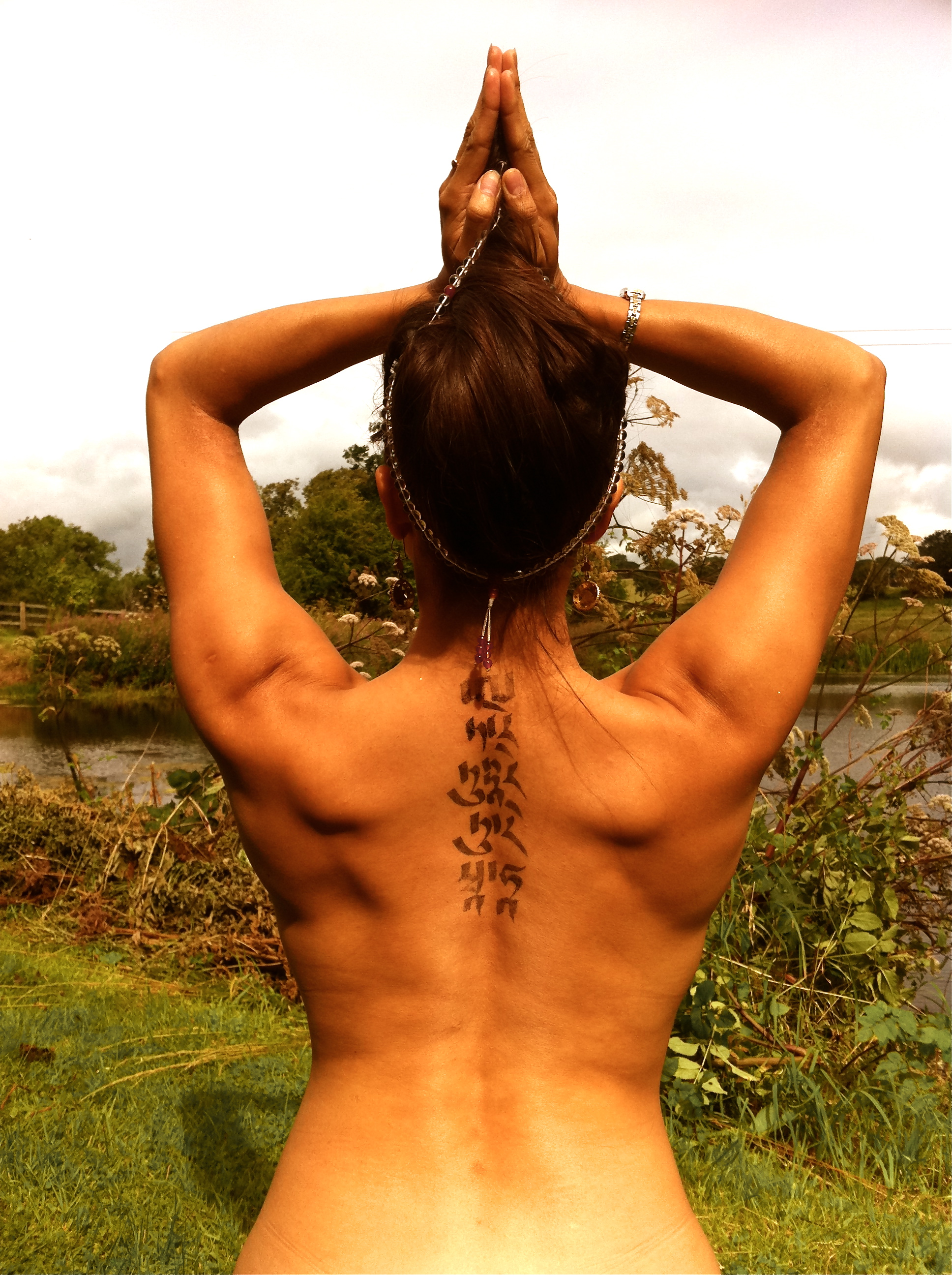 Lioness and cub tattoo yoga tattoo symbols