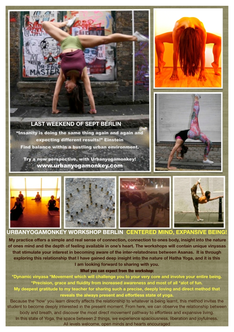Urbanyogamonks workshops promo 2011.