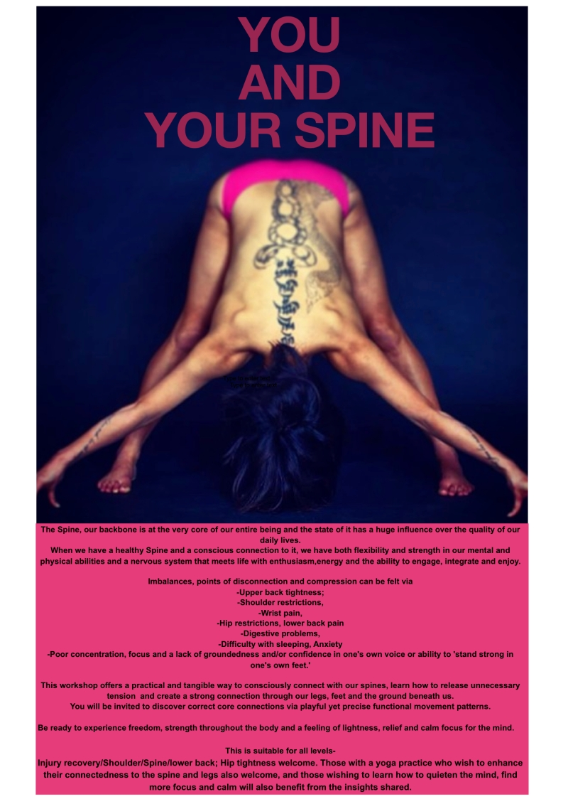 You and Your Spine